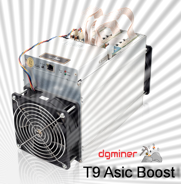Antminer T9 Asic boost Firmware