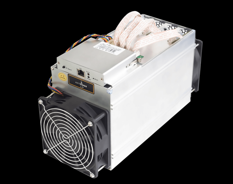 Antminer L3+, 504MH/s