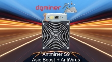 Asic Boost ver 980127 Antminer S9  ( Free Download )