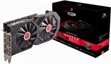 کارت گرافیک ایکس اف ایکس RX-580P8DBDR Radeon RX 580 GTS Black Edition 8GB OC+ Graphics Card